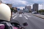 バイクによる尾行