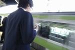 電車の尾行