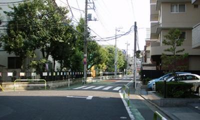 西尾久住宅街